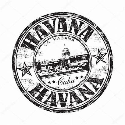 Cuba Havana Stamp Grunge Rubber Cuban Clipart
