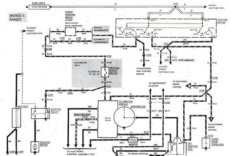 Ford Bronco Start Ignition Wiring Diagram