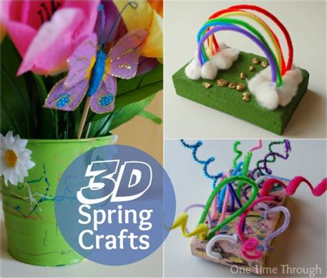 3d art projects for preschoolers 3d for children one time through 576