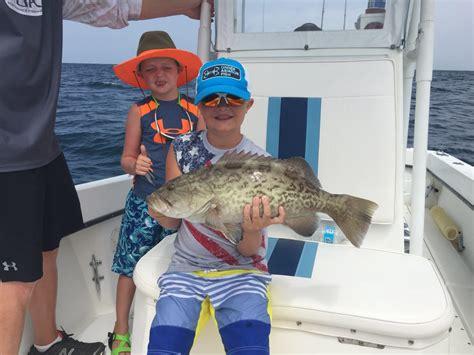 grouper gag fishing