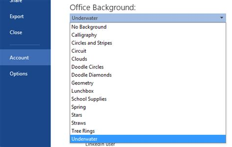 How To Change Office 2013 Theme And Background