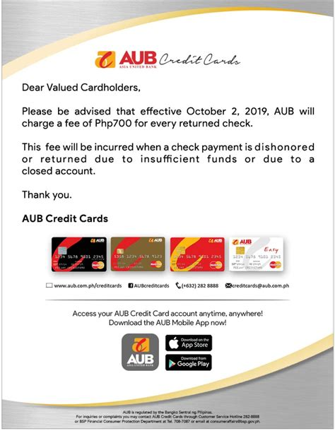 Fill out an aub credit card application form. AUB Asia United Bank Credit Cards 💳 - Page 161 — Banking and Finance — PinoyExchange