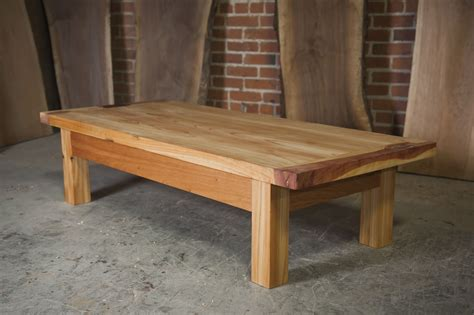 custom  cedar outdoor coffee table   nico