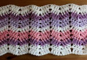 Bluebell Crafts  Easy Ripple Crochet Stitch