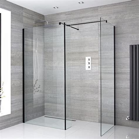 pannelli per doccia kit doccia a filo pavimento 1400x800mm con 2 pannelli di