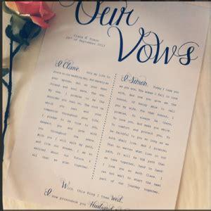 loving celebrations sample wedding vows