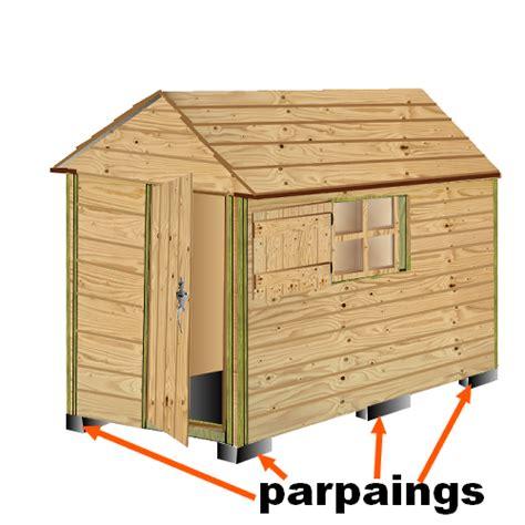 cabane en bois jardin mzaol com