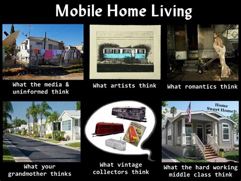 Mobile Memes - what living in a manufactured home really means mobile home living