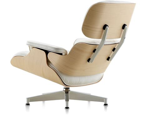 white ash eames 174 lounge chair hivemodern