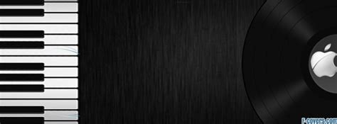piano keys record apple facebook cover timeline
