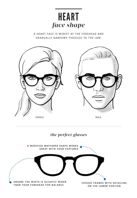 heart shaped face glasses men