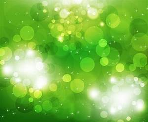 Green Glowing Glitter Abstract Background Vector ...