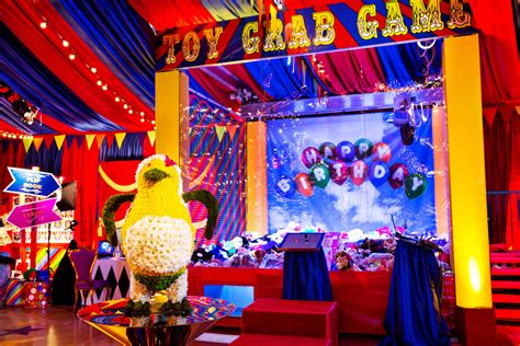 extravagant circus birthday party love luxe life