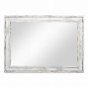 Spiegel Weiß Holzrahmen : wand spiegel 24 5x34 5 cm im holzrahmen pastell vintage look alt wei silber spiegelfl che ~ Indierocktalk.com Haus und Dekorationen