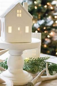 Winter Wonderland Christmas Village Tablescape Hello Allison