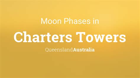 moon phases  lunar calendar  charters towers