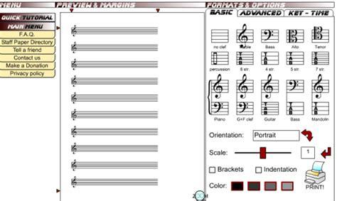 3 free online music sheet maker