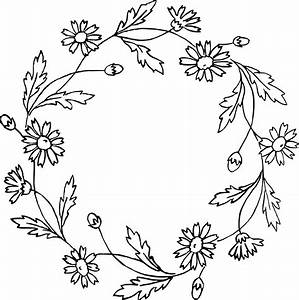 Floral Wreath Clip Art & Vector Images | Oh So Nifty ...