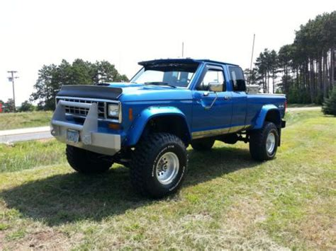 custom ford ranger 4x4 find used 1988 ford ranger 4x4 custom truck 5 0 in shakopee minnesota united states