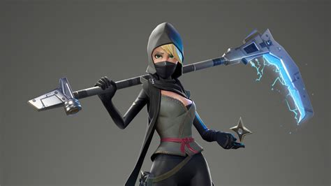 1280x720 Fortnite Female Ninja 720p Hd 4k Wallpapers