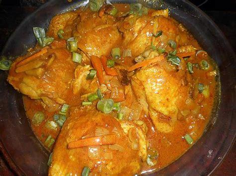 recette de cuisine cuisse de poulet recette de hauts de cuisses de poulet au curry