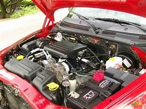 2003 Dodge Dakota Sport Quad Cab 4x4 4 7 Liter Sohc 16