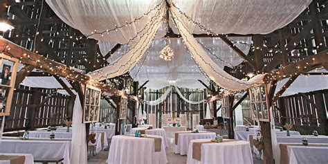 red orchard barn weddings  prices  wedding venues