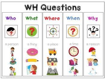 wh questions mega bundle preschool speech and language