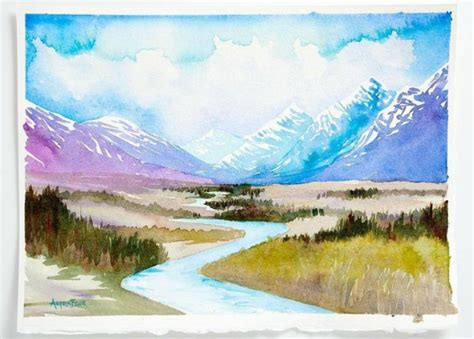 How To Loosen Up Your Watercolor Paintings