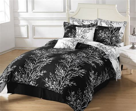 black and white comforter sets luxurious black and white comforters for your bedroom