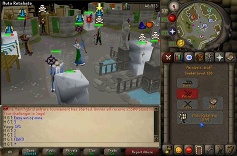 osrs wilderness pking instant active
