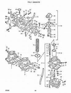 Fig 8 - Carburetor - Engine - Gt550 J-m
