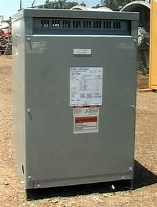25 Kva 1 480 240 Transformer Eaton Cutler