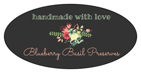 floral oval jar labels label templates ol
