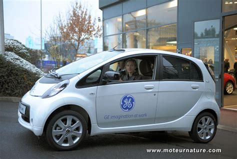General Electric's First Electric Car Is A Citroen C-zero