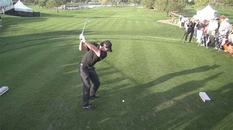 golf swing  rory mcilroy iron drive elevated dtl