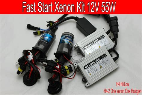 Free Shipping 12v 55w Fast Start Brightness Hid/xenon Kit