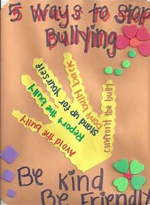Bullying Activities For Elementary School Students