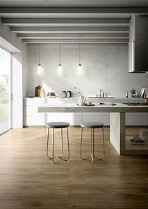 Cuisine Style Industriel Bois : le carrelage aspect bois en 74 photos quels sont ses ~ Teatrodelosmanantiales.com Idées de Décoration