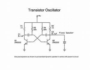 Musings  Transistor Oscillator