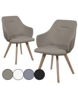 chaise scandinave avec accoudoir chaise avec accoudoirs style scandinave set de 2