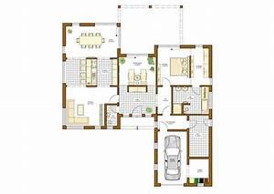 Luxus Bungalow Bauen : 36 besten grundriss bungalow bilder auf pinterest ~ Lizthompson.info Haus und Dekorationen