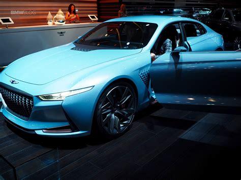 Hyundai Genesis News by Hyundai Wows New York With Genesis New York Concept