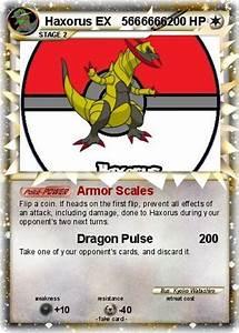 Pokémon Haxorus EX 5666666 5666666 - Armor Scales - My ...