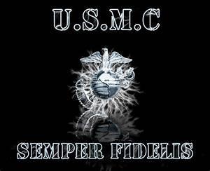 USMC Logo Wallpaper - WallpaperSafari