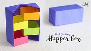 Diy Secret Stepper Box