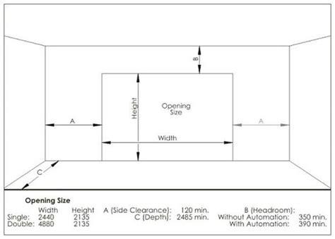 garage door height what is the standard garage door height quora