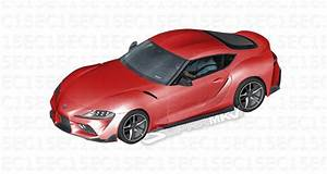 2019 Toyota Supra Modeled Inside And Out From Leaked Parts Diagrams