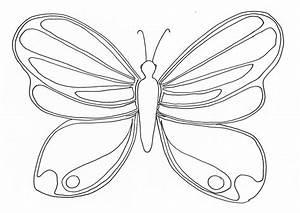 Dessin Facile Papillon : vol de papillon coloriages de papillons ~ Melissatoandfro.com Idées de Décoration