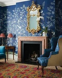 le papier peint en 52 photos pleines d39idees With delightful couleur pour mur salon 11 les rideaux occultants les plus belles variantes en photos